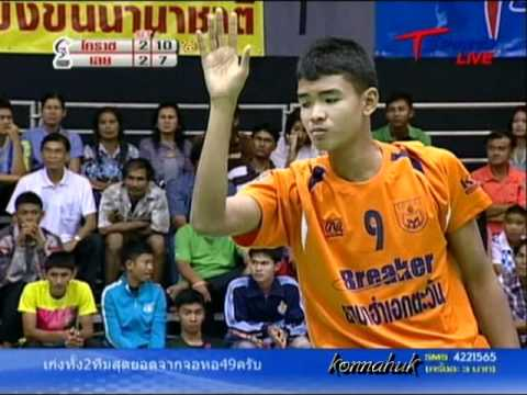 2011 Sepak Takraw Thailand League / Loei Vs Ratchasima- set 5