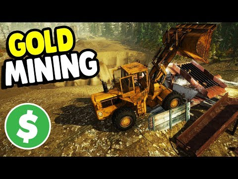 BIGGEST GOLD MINE STARTS UP & DUMP TRUCK PREP | Gold Rush: The Game Gameplay