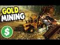 BIGGEST GOLD MINE STARTS UP & DUMP TRUCK PREP   Gold Rush: The Game Gameplay