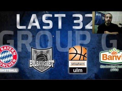 Eurocup G Grubu : Banvit/Bilbao/Bayern/Ulm (Takım Analizleri)