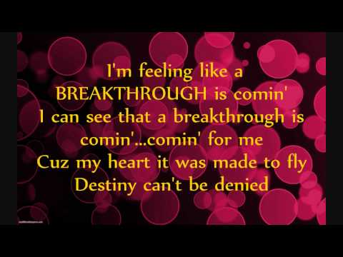 Britt Nicole- Breakthrough (Lyrics)