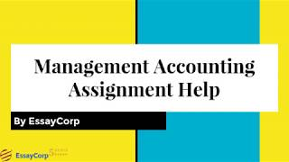 Management Accounting Assignment Help | Management Accounting Help