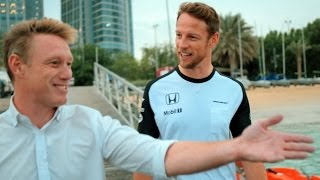 End of year wrap-up: Jenson Button speaks to SKY