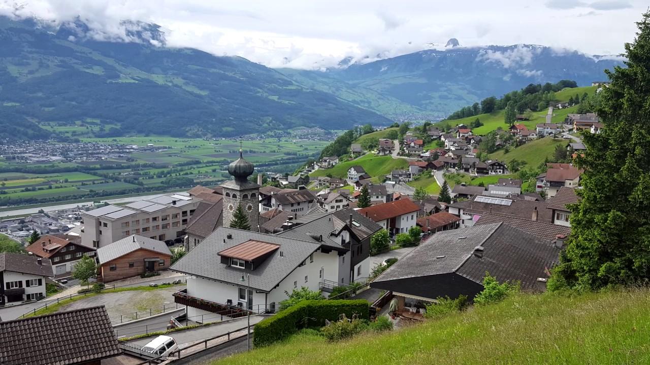 Λιχτενστάιν - Βόλτα στο πριγκιπάτο του Λιχτενστάιν (Lichtenstein) - YouTube