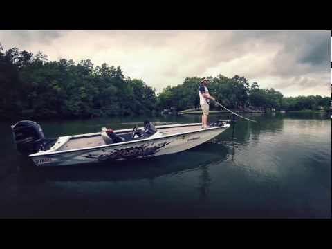 Xpress Boats on the water