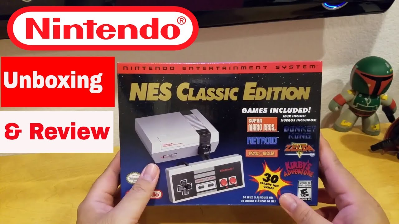 Nes Classic Edition 2018 Unboxing And Review Youtube