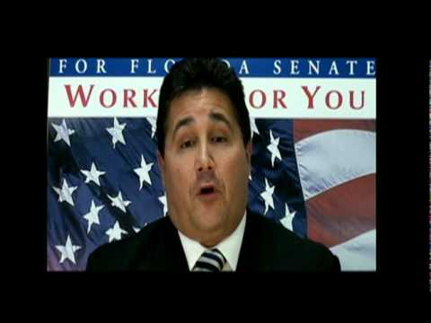 Julio Robaina: I'm running for Florida Senate.