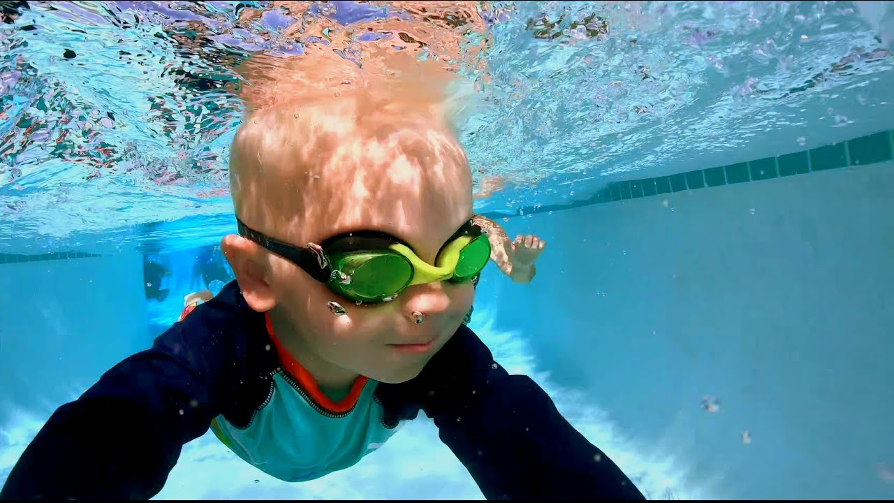 Swimming in Jack Carter Pool