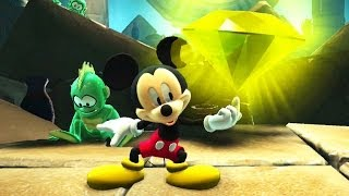 Castle of Illusion Starring Mickey Mouse #03: The Storm - A Tempestade - HD gameplay