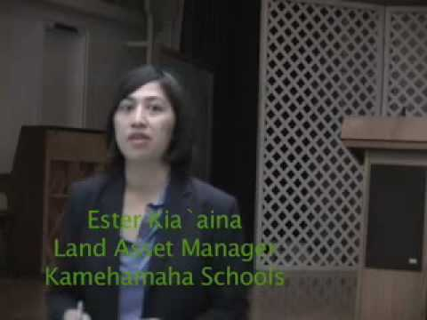 Kamilouni Farmers Speak With Kamehameha Rep Part II