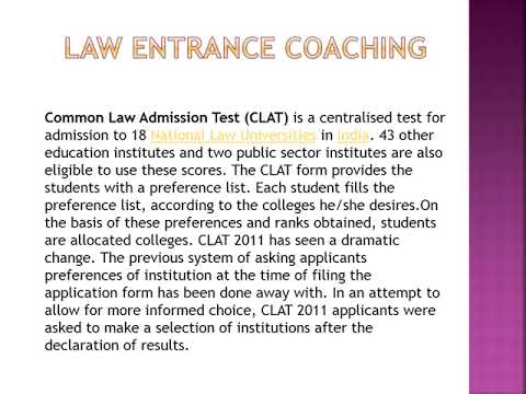 Law Entrance Coaching Institute | Call - 1800-1230-133