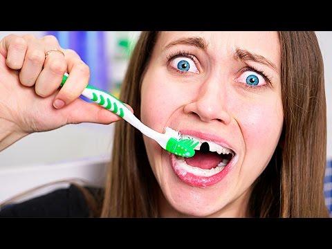 Как чистить зубы -