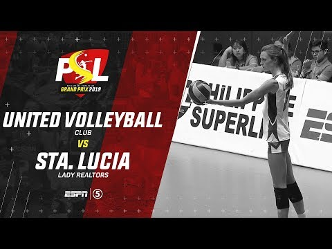 LIVE: United Volleyball Club vs. Sta. Lucia Realtors | PSL Grand Prix 2019