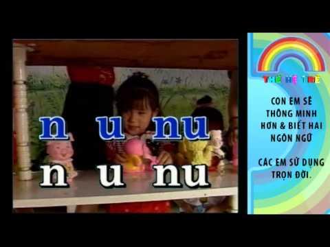 thehetretv com   lesson13 be hoc danh van 2 hoc chu n qua bai hat