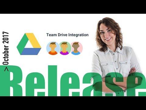 Kanbanchi Release October 2017 (Team Drive Integration)