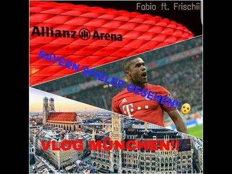 #1 VLOG in München | Bayern spieler getroffen!!! | Fabio ft. frischii