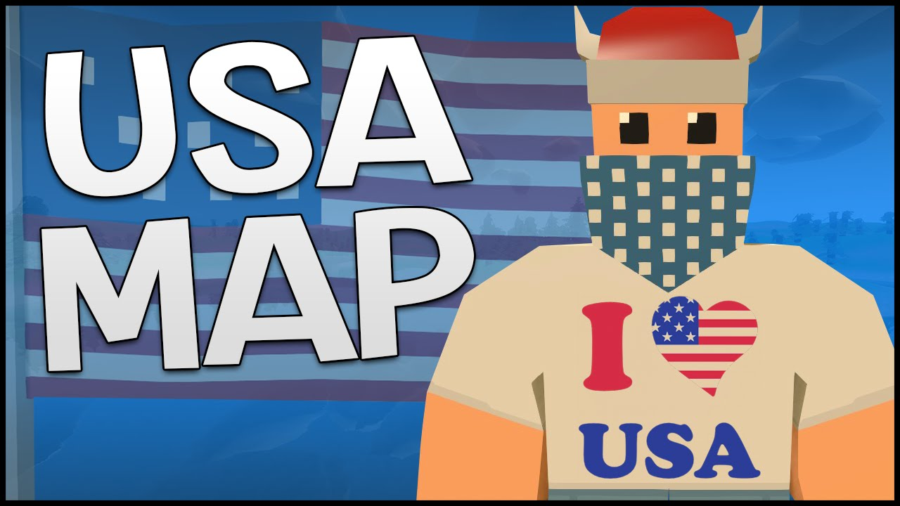Unturned 313 Update Gameplay NEW USA MAP WASHINGTON 31300