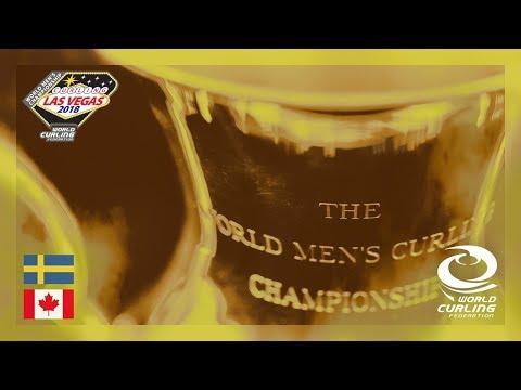 Sweden v Canada - Gold medal final - 361º World Men's Curling Championship 2018
