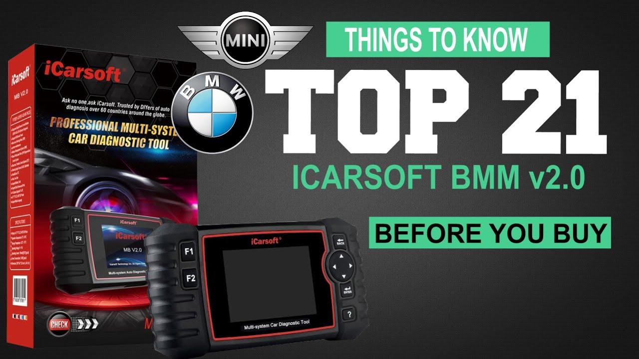 Car iCarsoft OBD2 Diagnostic Tool BMM V2.0 For BMW and Mini Multi-System
