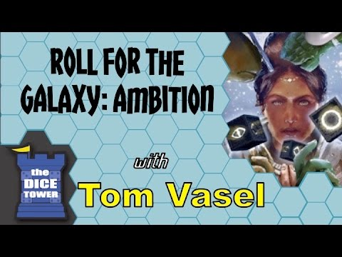 Roll for the Galaxy Ambition Review - with Tom Vasel