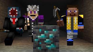 Minecraft Ore Hunt 2 VS 1