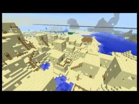 Minecraft: Egyptian sand village