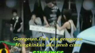 SHERINA MUNAF ~ GEREGETAN / HQ { WITH LYRICS }