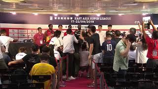 Live @ East Asia Super League -THE TERRIFIC 12 Final Four Press Conference