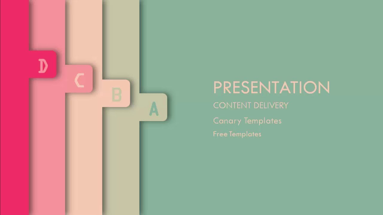 Creative free powerpoint template free powerpoint templates creative free powerpoint template free powerpoint templates canary templates toneelgroepblik Image collections