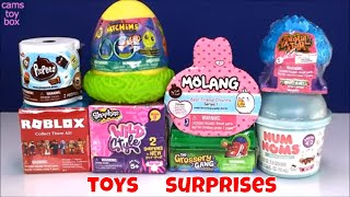 Toy Surprises Num Noms Molang Shopkins Pet Pods Roblox 3 Grossery Gang Hatchems Fun Kids Toys