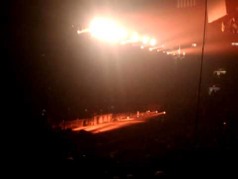 Rammstein Fans Waiting For The Encore In Madison Square Garden 2010 Youtube