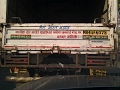 Funny Quotes Behind Indian Trucks!