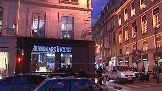 Tercer robo millonario en cuatro meses en una joyería de postín de París