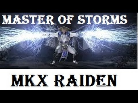 MKX: Raiden (Master of Storms) Variation- Arcade Tower HD