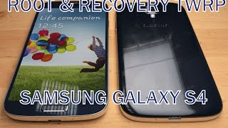 Instalar Recovery TWRP + ROOT Samsung Galaxy S4 GT-I9500/9505