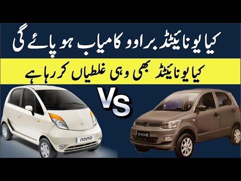 Pakistani United Bravo Vs Indian Tata Nano Cheap Cars Case Study