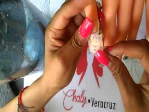 Gemas rosas en acrilico para u as acrilicas 3d doovi - Sedas para unas ...