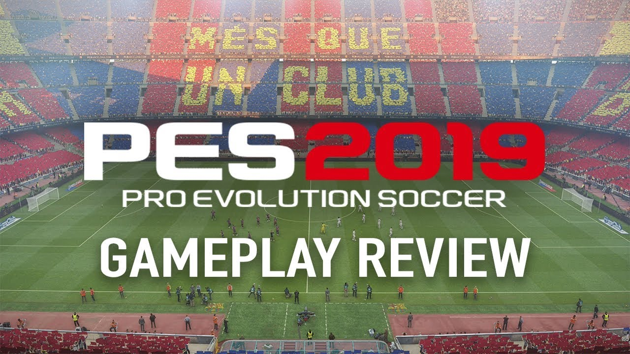 PES 2019 Gameplay Barcelona vs AC Milan - Gameplay Review & First Impressions