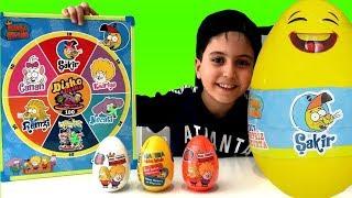KRAL ŞAKİR DEV SÜRPRİZ YUMURTA !! Kral Şakir Sürpriz Yumurtaları Açıyoruz