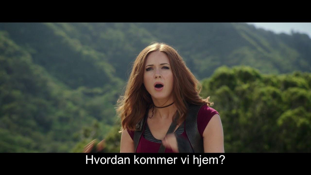 Jumanji Welcome To The Jungle - trailer K m/dk tekster uden topbanner - I biografen 25. december