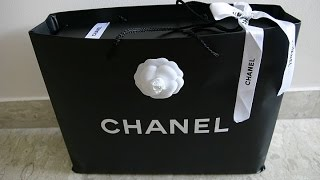 CHANEL Bag Unboxing.