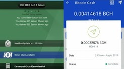 Free Bitcoin Cash - Earn BCH By Watching ADS - Payment Proof