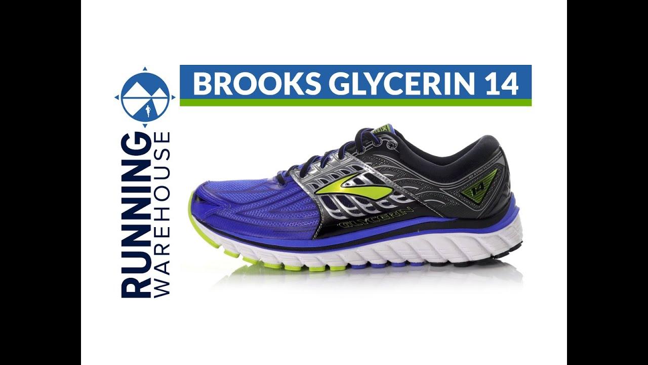Brooks Glycerin 14 for Men - YouTube