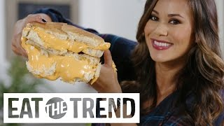 How to Make a Supersize Grilled Cheese | Eat the Trend