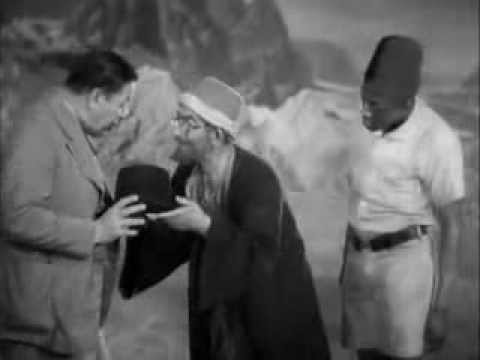 """Stepin Fetchit wearing a Fez in """"Charlie Chan In Egypt"""""""