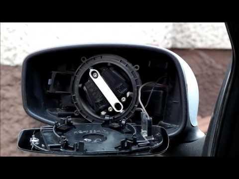 Wymiana wkładu lusterka z matą grzewczą. Fiat Stilo