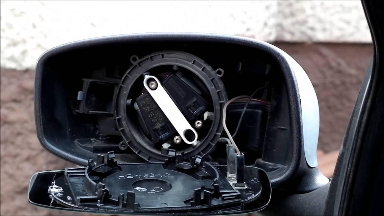 Wymiana Wkładu Lusterka Z Matą Grzewczą Fiat Stilo Youtube