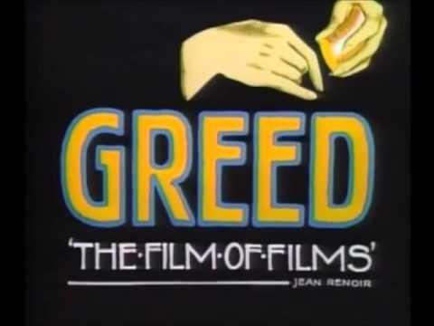 Book of Erich von Stroheim's Complete Greed (1924)