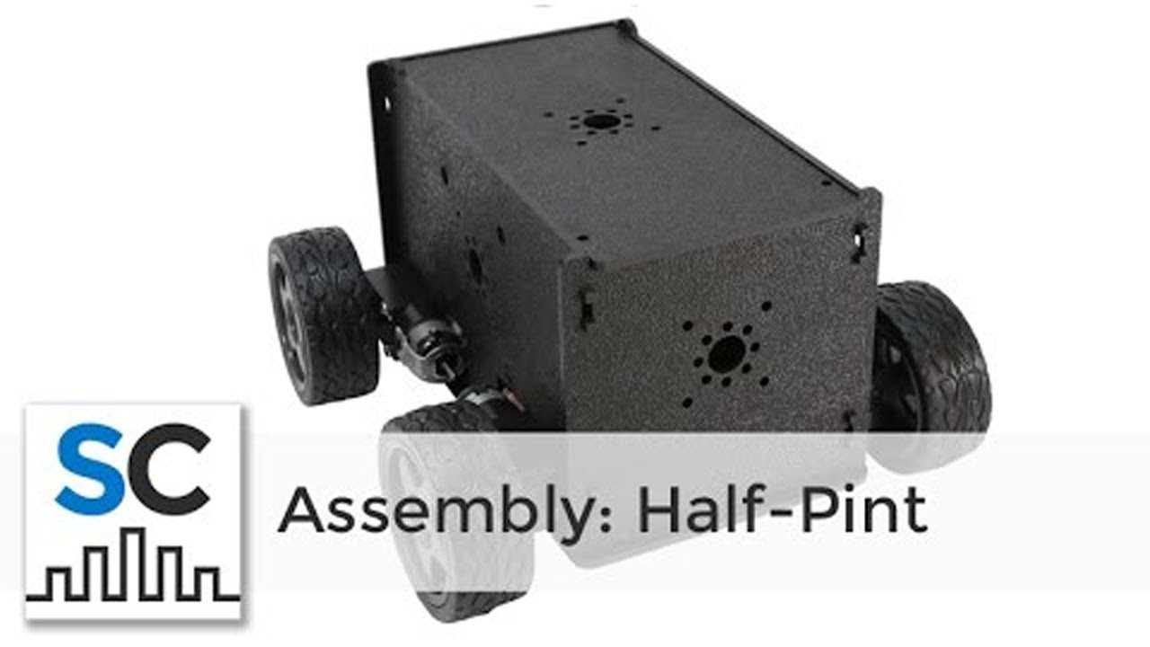 Half-Pint Runt Rover™ by Actobotics® Assembly Instructions #637154