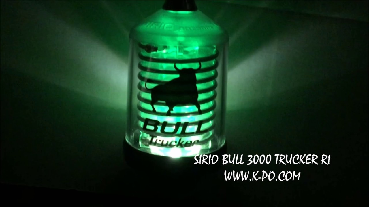 SIRIO BULL TRUCKER 3000 RI (RG58)
